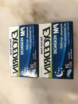 2 of Excedrin pm headache caplets for Migraine Pain Relief 2