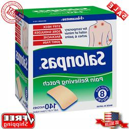 3 OF 40 PATCHES SALONPAS EXTERNAL PAIN RELIEVING