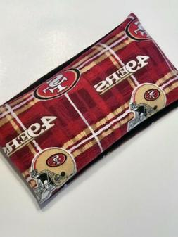 49ers Rice Bag GIFT Microwavable Heating Pad HOT or FROZEN F