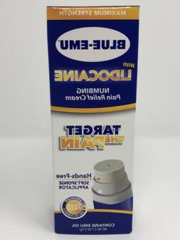 Blue-Emu with Lidocaine Numbing Pain Relief Cream
