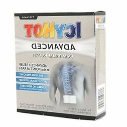 ICY HOT Advanced Pain Relief Patch 4 ea