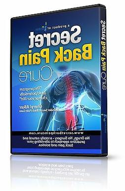 Back Pain Relief DVD - Natural Prevention of Sciatica, Lower