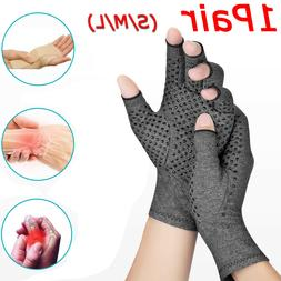 Copper Compression Gloves Medical Arthritis Pain Relief Hand