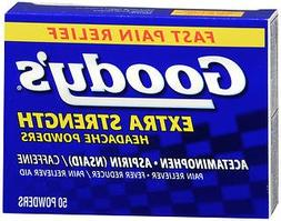 Goody's Headache Powders, Extra Strength, 50-Count Boxes