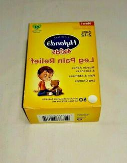Hyland's 4 Kids Leg Pain Cramp Relief Natural Relief 50 Quic