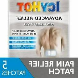 Icy Hot Advanced Relief Pain Relief Patch , No Mess