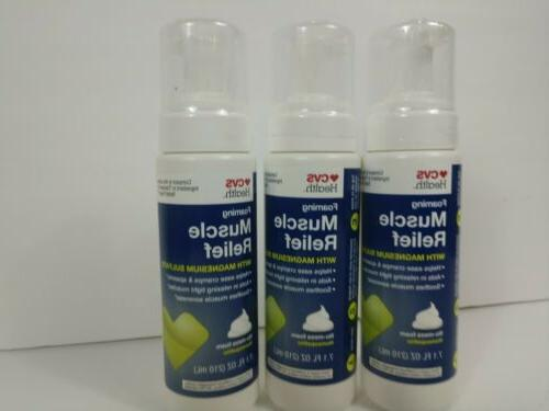 health relief foam for muscle cramps
