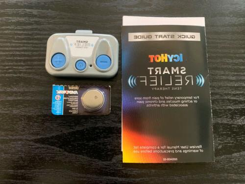 smart relief tens pain therapy starter kit