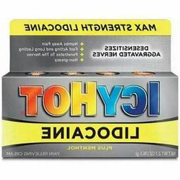 Icy Hot Max Strength Lidocaine Pain Relieving Cream 2.7oz LO