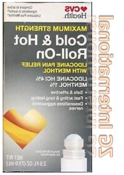 Maximum Strength Cold & Hot Roll -ON Pain Relief Exp 11/21 v