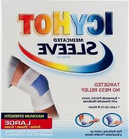 Icy Hot Maximum Strength Medicated Sleeve, Large, 3 Count Bo