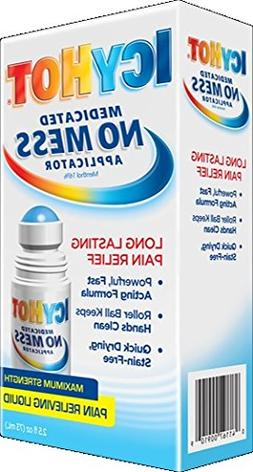 ICY HOT Medicated No Mess Applicator Pain Relieving Liquid 2