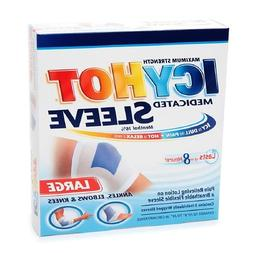 ICY HOT Medicated Sleeve Large  3 Each