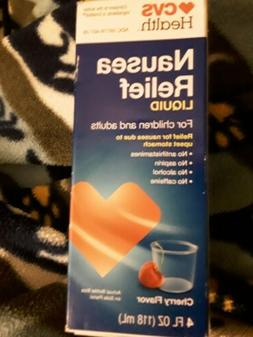 Nausea Relief Liquid For Children and Adults CVS Health 4 Fl