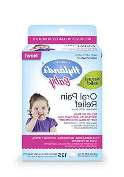 Hyland's Baby Oral Pain Relief Tablets, Soothing Natural Rel