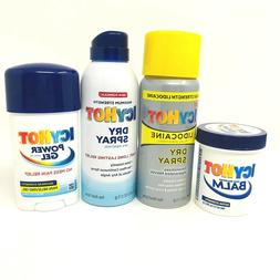 Icy Hot Pain Relief Choose Your Formulation Dry Spray Lidoca