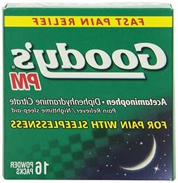 Goody's Pain Relief Powder Pm, 16 Count