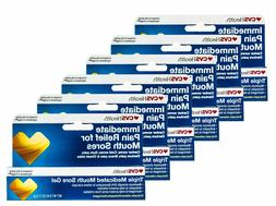 CVS Triple Medicated Mouth Sore Gel Oral Pain Relief 6 Pack